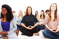 group meditation raleigh