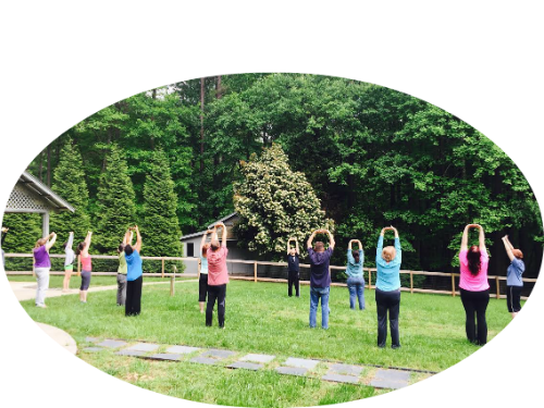 qigong class 2 OVAL SMALL